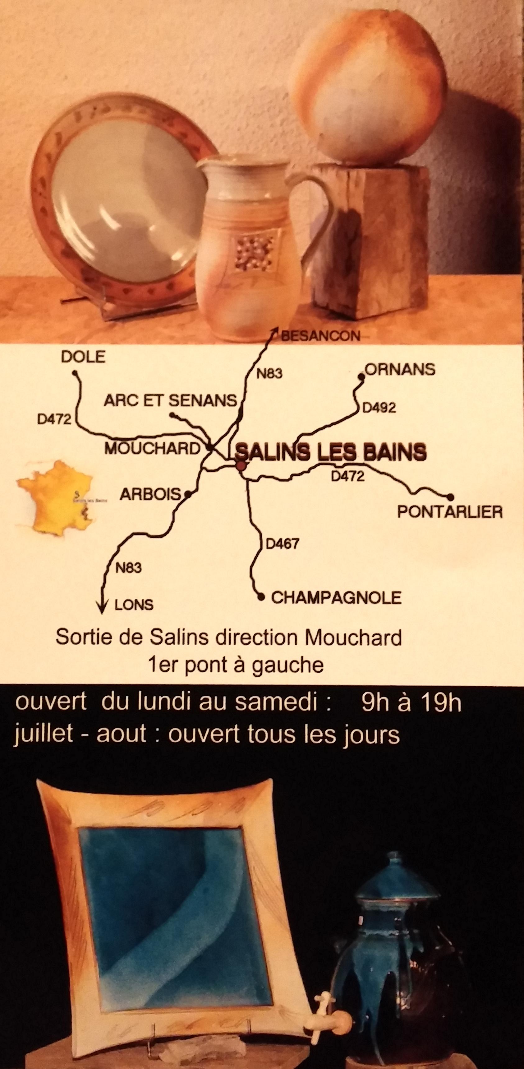 Bus Et Visite De Latelier Sur RDV Nhesitez Pas A Venir Admirer Nos Ceramiques Lors Votre Passage En Franche Comte